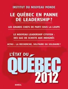 Etat du Quebec 2012
